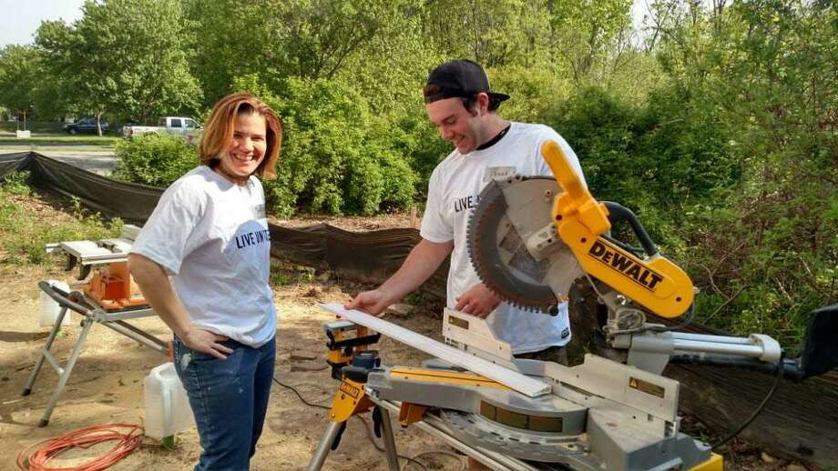 The Middlesex United Way supports Middlesex Habitat for Humanity, Columbus House, the Housing Opportunities for People Everywhere Partnership, and The Connection's Eddy Shelter volunteers. Photo: Contributed Photo