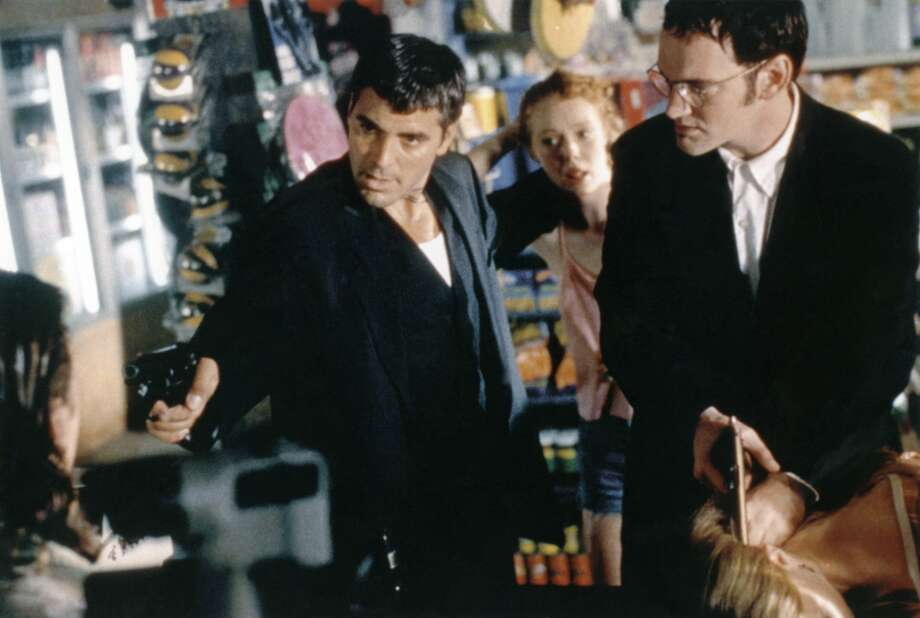 """""""From Dusk til Dawn"""" (1996)Location: Del RioStarring: George Clooney, Harvey Keitel and Juliette Lewis Photo: Sunset Boulevard/Corbis Via Getty Images, Getty Images"""