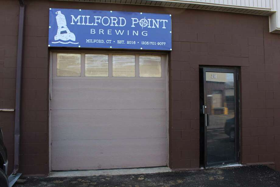 Milford Point Brewing Co. at 230 Woodmont Road is to open on April 7. Photo: Jordan Grice / Hearst Connecticut Media / Connecticut Post