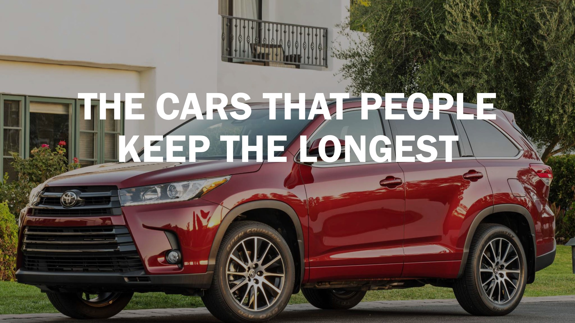 The cars that people keep the longest SFGate