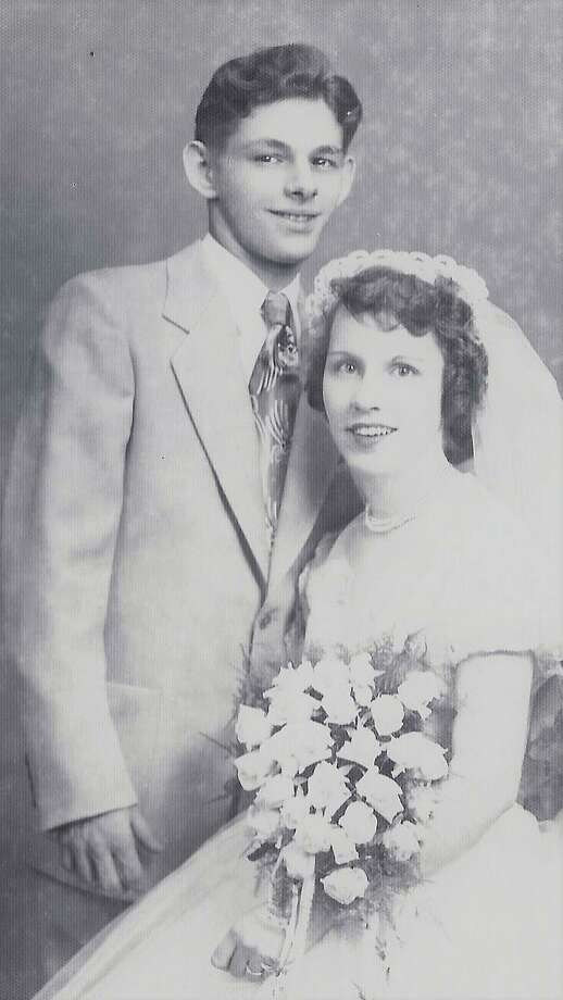 Louis and Geraldine (Russell) Didato will celebrate their 65th wedding anniversary on April 6. Photo: / Contributed Photo