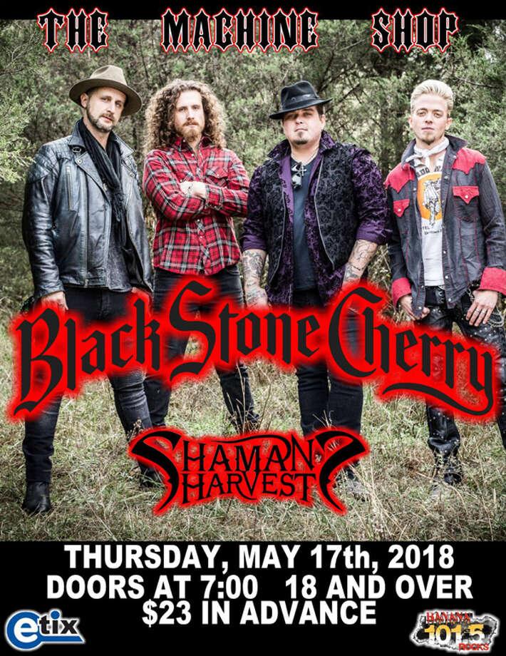 May 17: Black Stone Cherry, The Machine Shop, Flint, http://www.themachineshop.info Photo: Http://www.themachineshop.info
