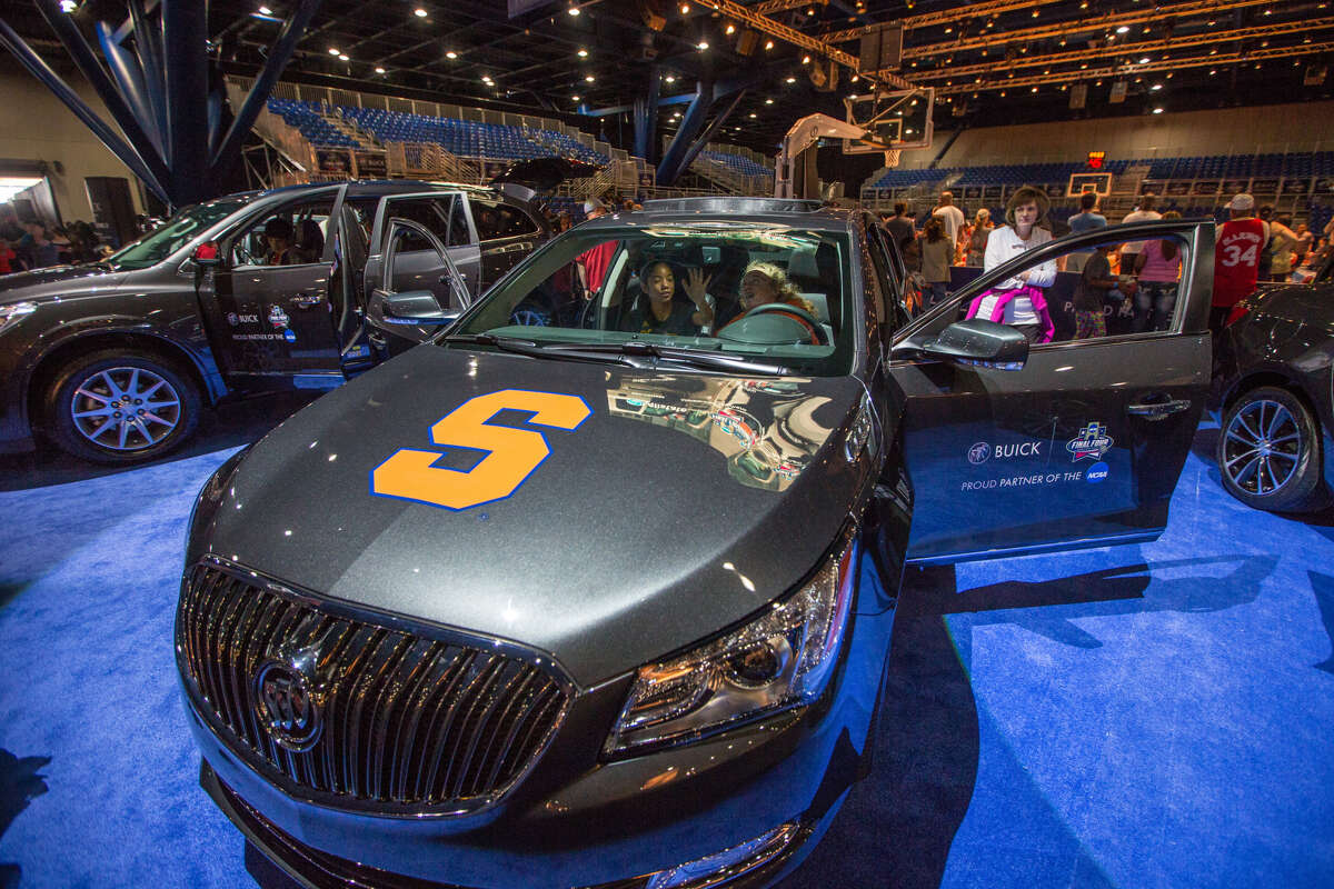 Buick Fan Shuttle: Buick, a corporate partner of NCAA, is providing a