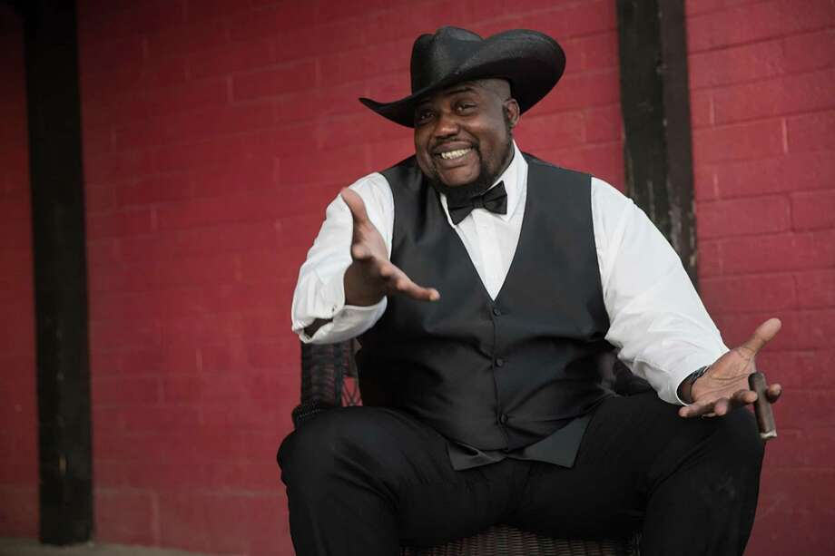 """Caron """"Sugaray"""" Rayford will bring his big, soulful blues voice and his equally big persona to The Katharine Hepburn Cultural Arts Center stage. Photo: Courtesy Of The Kate"""