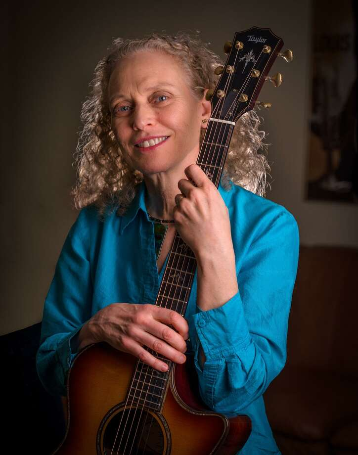 Wilton Library's Hot & Cool: Jazz at the Brubeck Room concert welcomes the Mimi Fox Duo with jazz guitarist Mimi Fox and bassist Mike Asetta at 4 p.m. on Sunday, April 15. Photo: Contributed Photo / Wilton Library / Mike Oria Photography