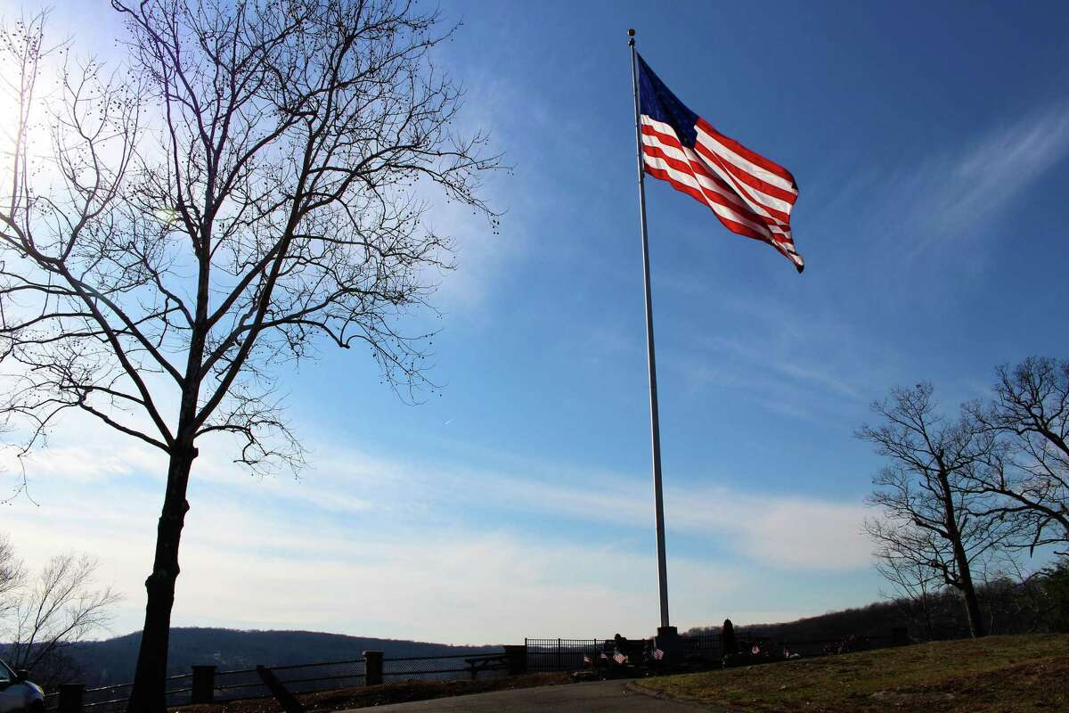 The American flag is back atop French Memorial Park in Seymour.