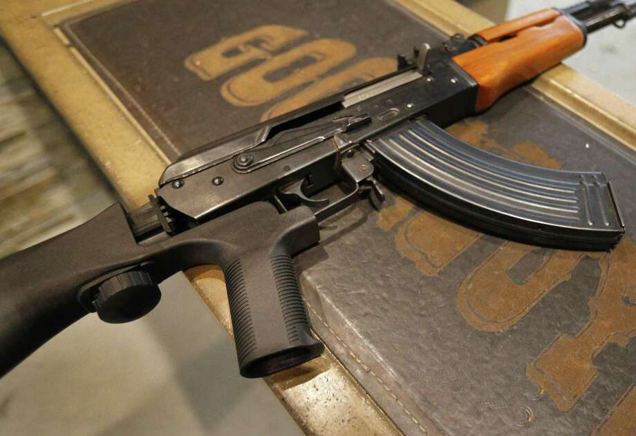 According to court documents and statements made in court, between July 2017 and April 2018, Dey made and manufactured machine guns, including AK-47-style and AR-style machine guns, suppressors, and other firearms. Photo: George Frey / Getty Images / 2018 Getty Images