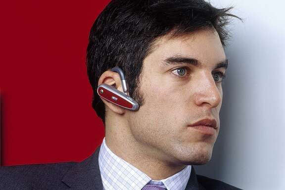 Using cell phone ear pieces may lead to distractions that are both rude and dangerous.