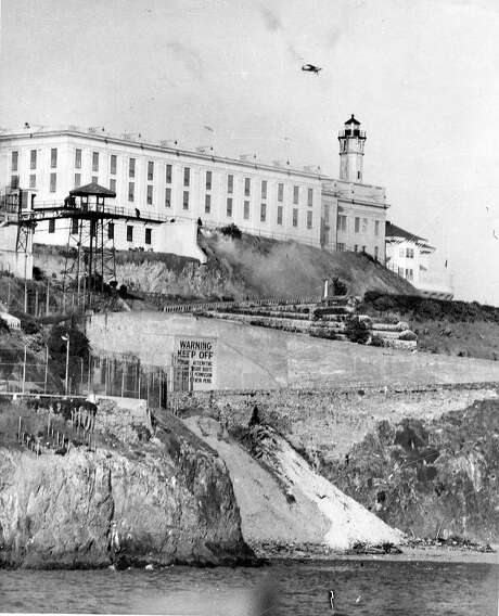 Four inmates tried to escape from Alcatraz on April 3, 1943. Photo: Associated Press 1946
