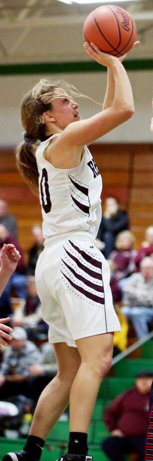 All-Tribune Player of the YearSayge Cuthrell, Cass CityPosition: CenterHeight: 5-10Grade: Sr.Points: 418 (19.0)Rebounds: 275 (12.5)Assists: 55 (2.5)Steals: 33 (1.5) Photo: Paul P. Adams/Huron Daily Tribune