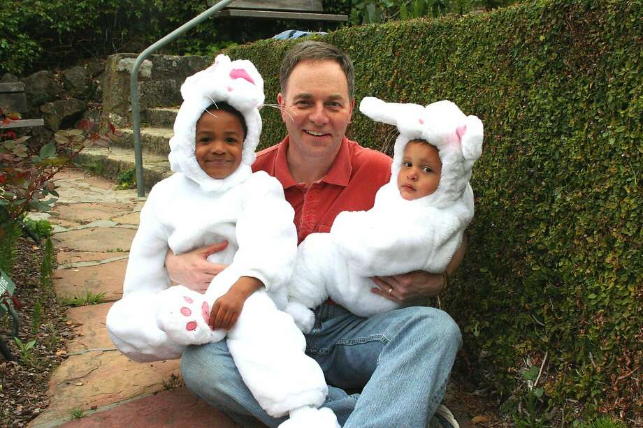 Easter bunnies ready for the egg hunt. Photo: Courtesy Kevin Fisher-Paulson