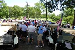 People turn out for the 2015 Kingwood Fallen Heroes Golf Tournament at the Kingwood Country Club.