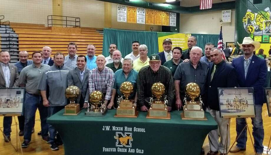 Bill Groogan won 220 games and won five outright district titles in 11 seasons with Nixon from 1979-91. Photo: Jason Mack / Laredo Morning Times
