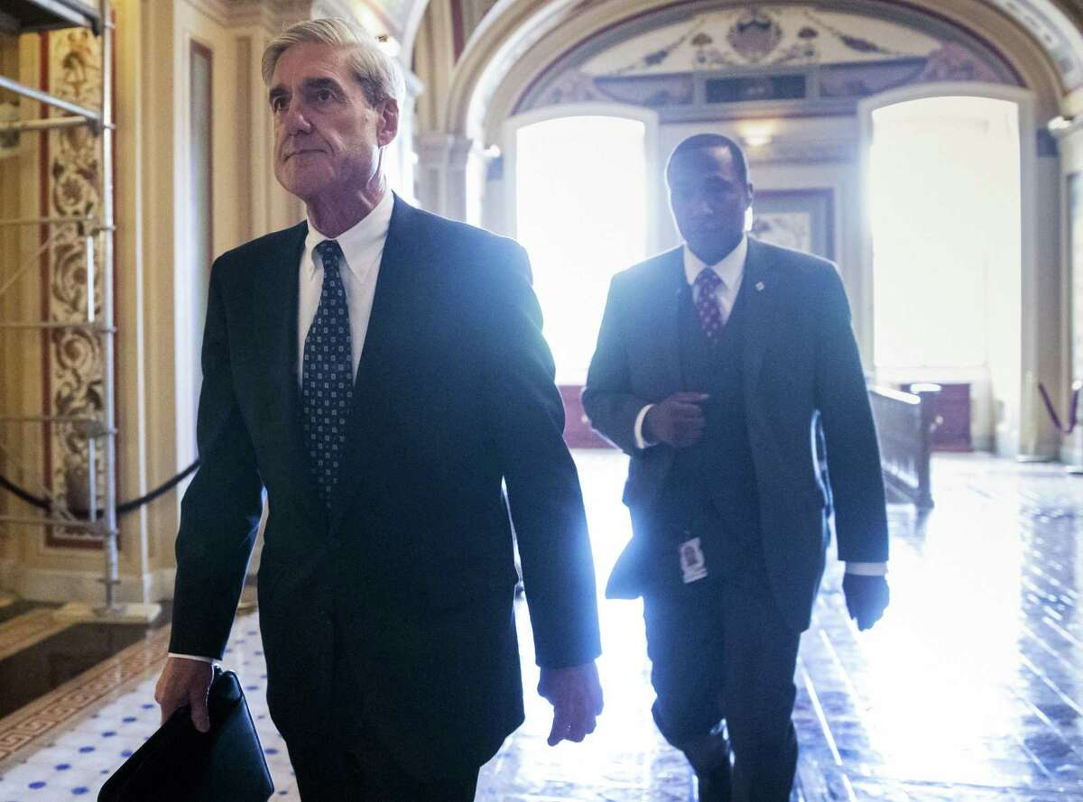 Special counsel Robert Mueller took over the inquiry into Trump when he was appointed, days after FBI officials opened it.