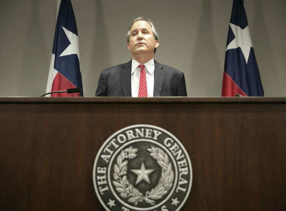 FILE - Republican Texas Attorney General Ken Paxton, pictured in 2016, filed a lawsuit hours after Gov. Greg Abbott signed Senate Bill 4 to require law enforcement to adhere to federal requests to detain people suspected of being in the country illegally. However, the law had yet to go into effect. (Jay Janner/Austin American-Statesman via AP) Photo: Jay Janner, MBO / AP / AP