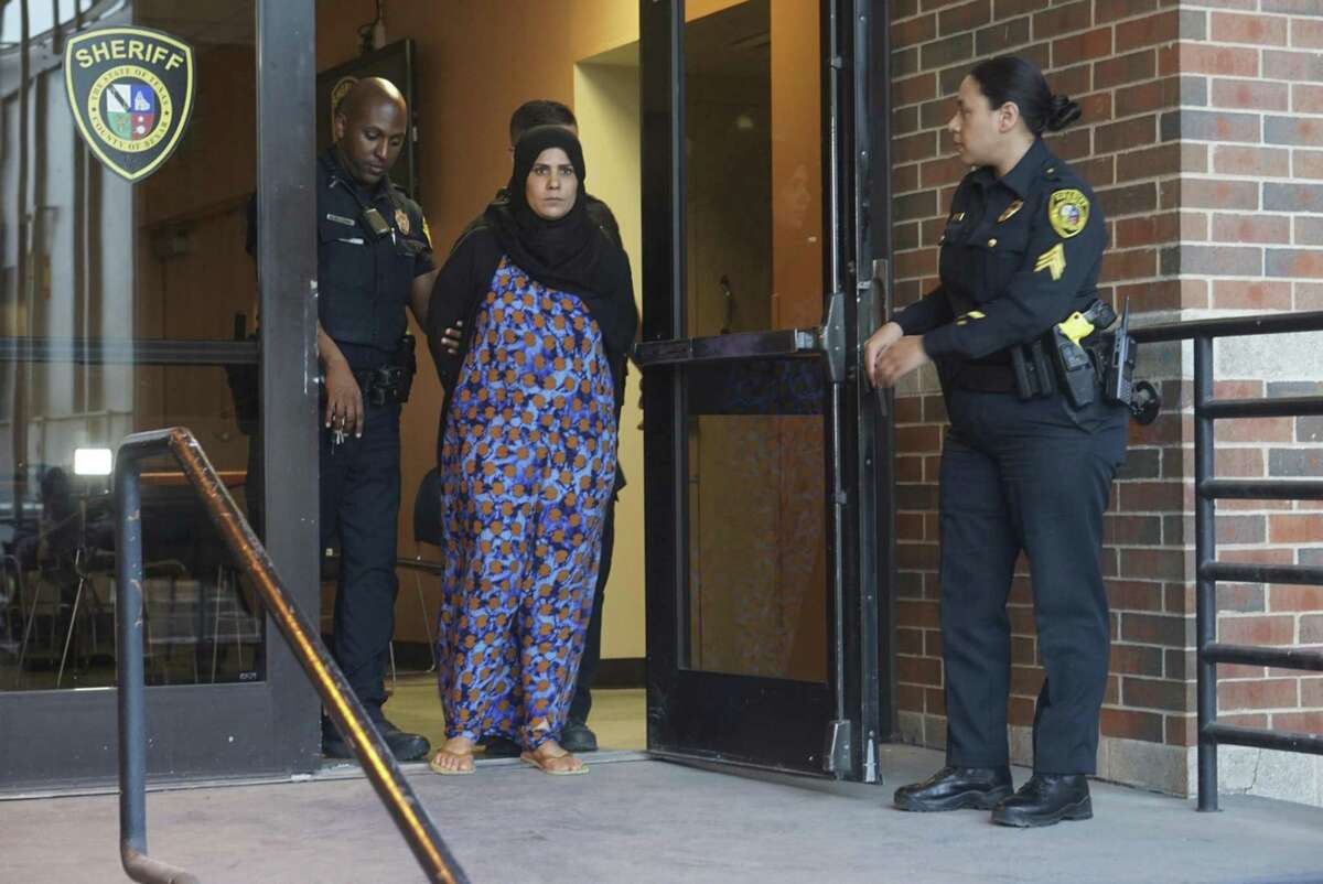 Hamdiyah Sabah Alhishmawi, 35, is facing at least one felony count of continuous family violence, according to Bexar County Sheriff Javier Salazar. He says the FBI may also add charges of their own.