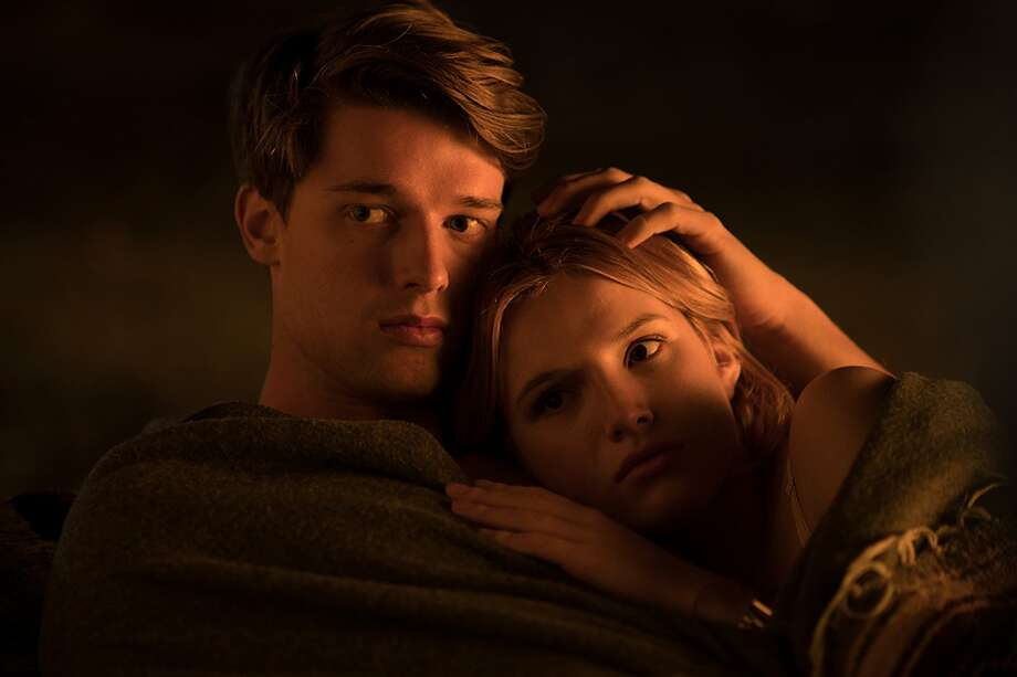 Patrick Schwarzenegger and Bella Thorne in Midnight Sun (2018)