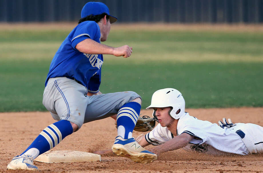 Kerrville Tivy and Boerne Champion, which beat the Antlers 11-5 on March 23 in Boerne, are both ranked in the top 10 in Class 5A by the Texas High School Baseball Coaches Association. (Staff photo)