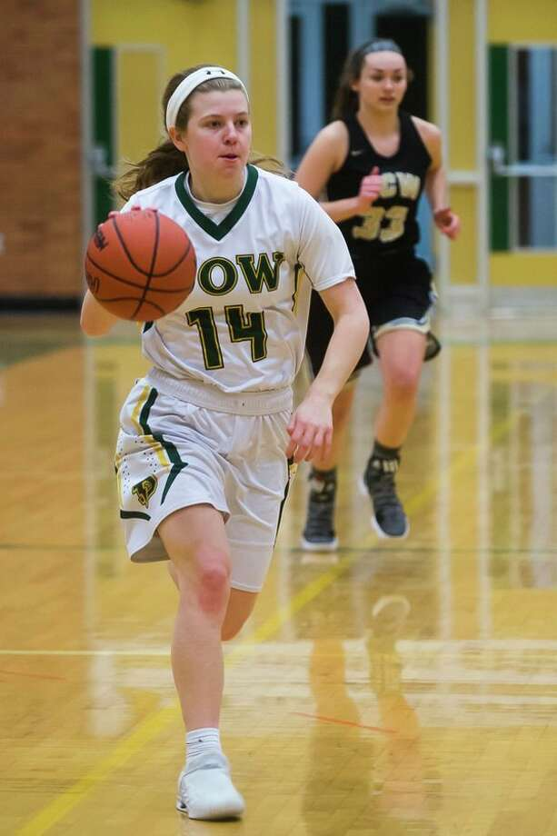 Dow High's Molly Davis carried the scoring load for the Chargers all season, averaging 17.1 points a game.