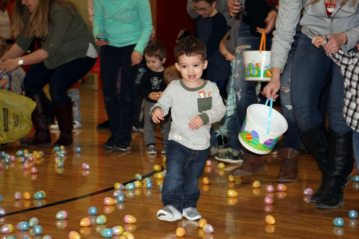 The countdown to Easter started Saturday morning in Harbor Beach with several rounds of Easter egg hunts. Children of all age groups quickly grabbed their eggs and filled their baskets to the top.