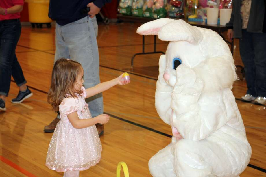 The countdown to Easter started Saturday morning in Harbor Beach with several rounds of Easter egg hunts. Children of all age groups quickly grabbed their eggs and filled their baskets to the top. Photo: Bradley Massman/Huron Daily Tribune