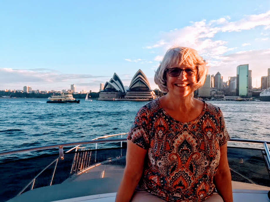 Laurie Armstrong Gossy on making a near disaster into a great travel memory. Photo from Sydney Harbour.  Photo: Laurie Armstrong Gossy