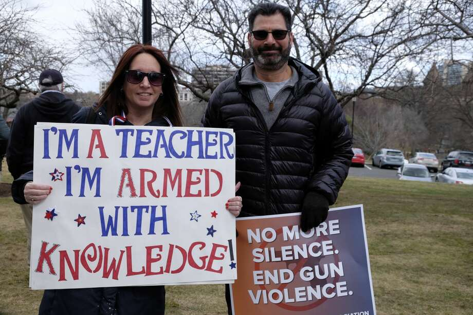 On March 24, 2018, people across the nation joined the March for Our Lives to protest gun violence and school shootings. Were you SEEN at the Hartford march? Photo: Dawn Kubie