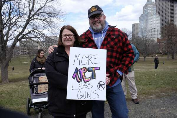 On March 24, 2018, people across the nation joined the March for Our Lives to protest gun violence and school shootings. Were you SEEN at the Hartford march?