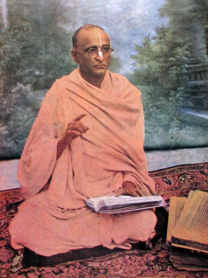 Spiritual master Srila Bhaktisiddhanta Sarasvati Thakura was the key figure in launching the Hare Krishna movement in America.