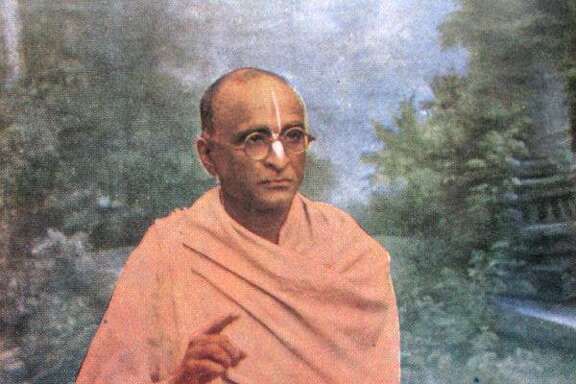 Spiritual master Srila Bhaktisiddhanta Sarasvati Thakura was the key figure in launching the Hare Krishna movement in America.