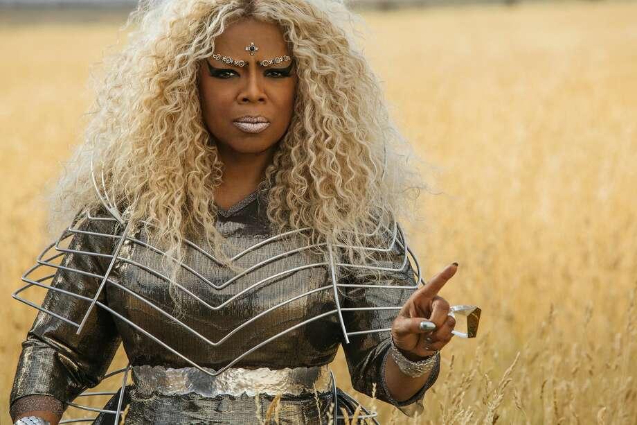 Oprah Winfrey in 'A Wrinkle in Time.' Photo: Disney