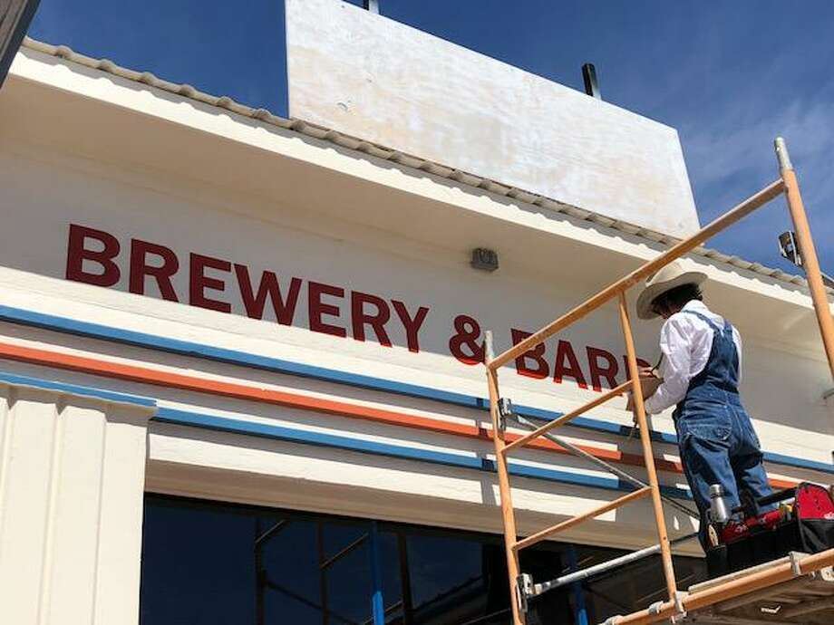 Brick Vault Brewery & Barbecue has its grand opening April 21. Photo: Carol Peterson / Carol Peterson
