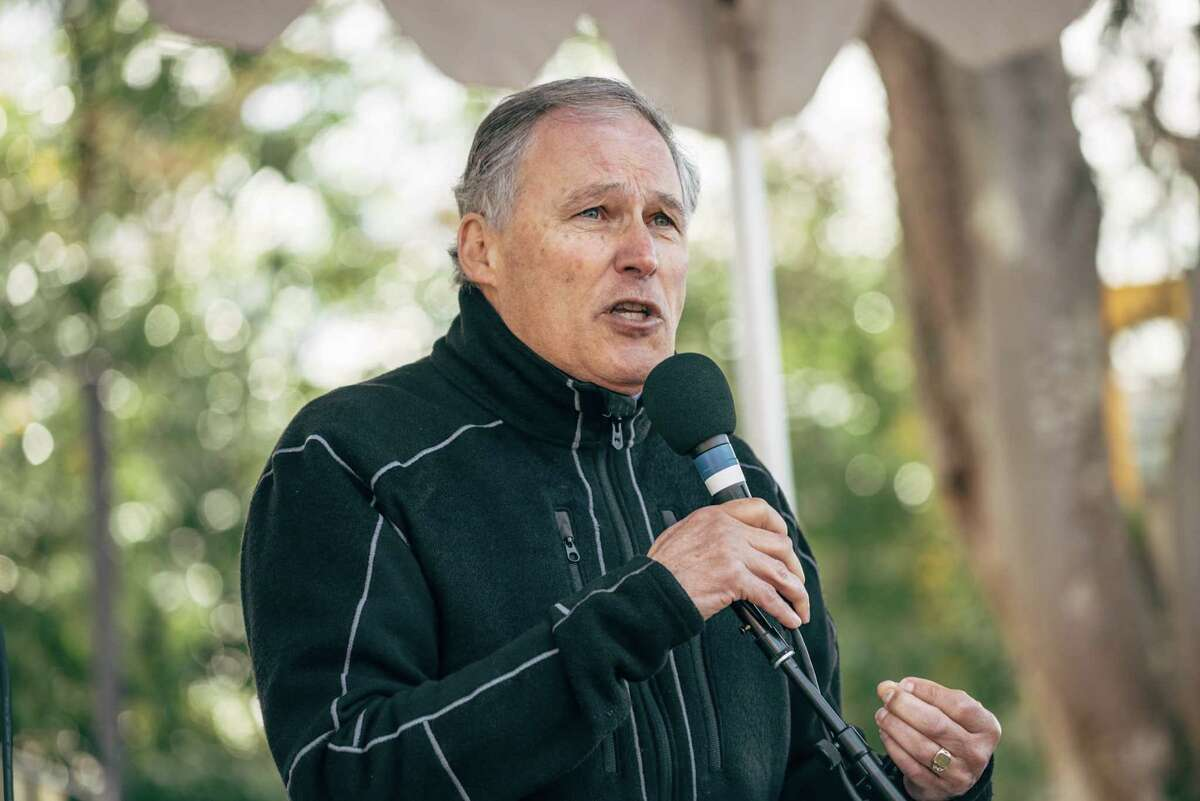 """Washington governor Jay Inslee: The """"unequal application of law,"""" the """"enormous cost"""" and the prolonged uncertainty of victims' families during appeal caused him to announce a death penalty moratorium in 2014."""