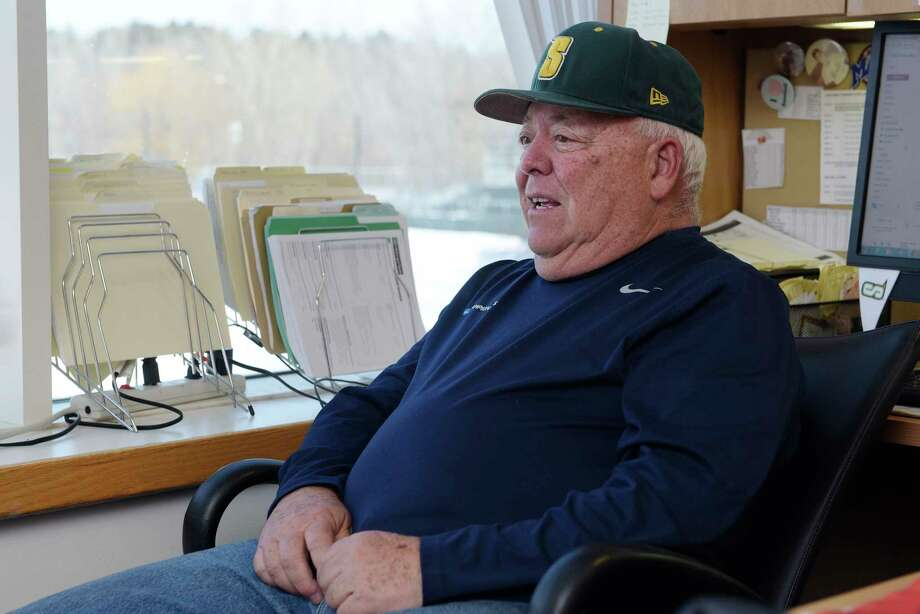 Siena College baseball coach Tony Rossi talks about coaching during an interview on Tuesday, March 20, 2018, in Loudonville, N.Y.  (Paul Buckowski/Times Union) Photo: PAUL BUCKOWSKI / (Paul Buckowski/Times Union)