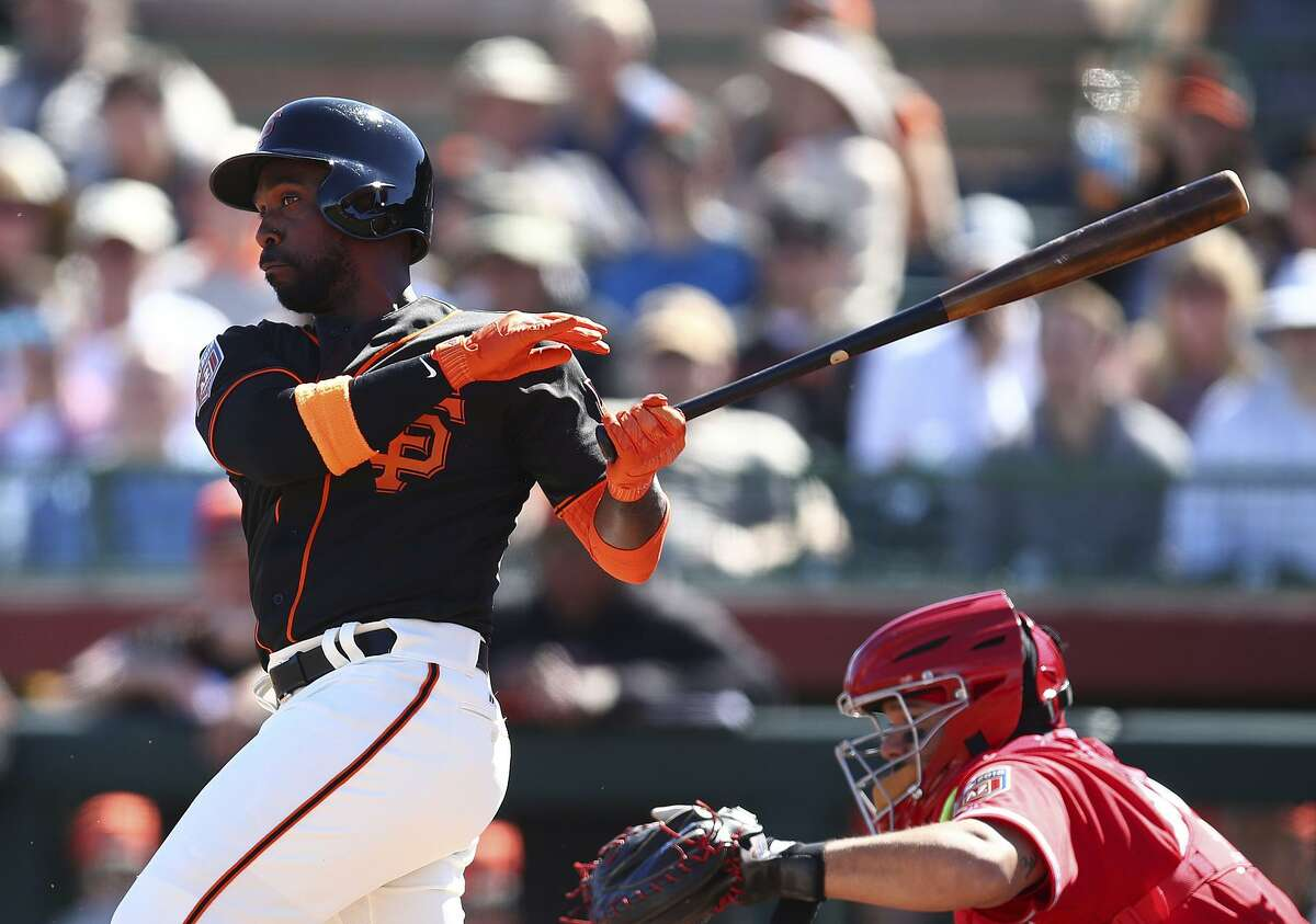 The Giants seek a significant lineup boost from right fielder Andrew McCutchen, who hit 28 homers in 2017 with Pittsburgh.