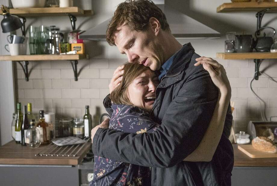 """Benedict Cumberbatch and Kelly Macdonald star as the grieving parents of a missing little girl in """"The Child in Time"""" on PBS' """"Masterpiece."""" Photo: Charlie Best / Pinewood Television / SunnyMarch TV Photos / WARNING: Use of this copyright image is subject to the terms of use of BBC Pictures' Digital Picture Service (BBC Pictures) as s"""