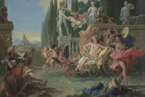 Giovanni Battista Tiepolo, 'The Empire of Flora,' 1743