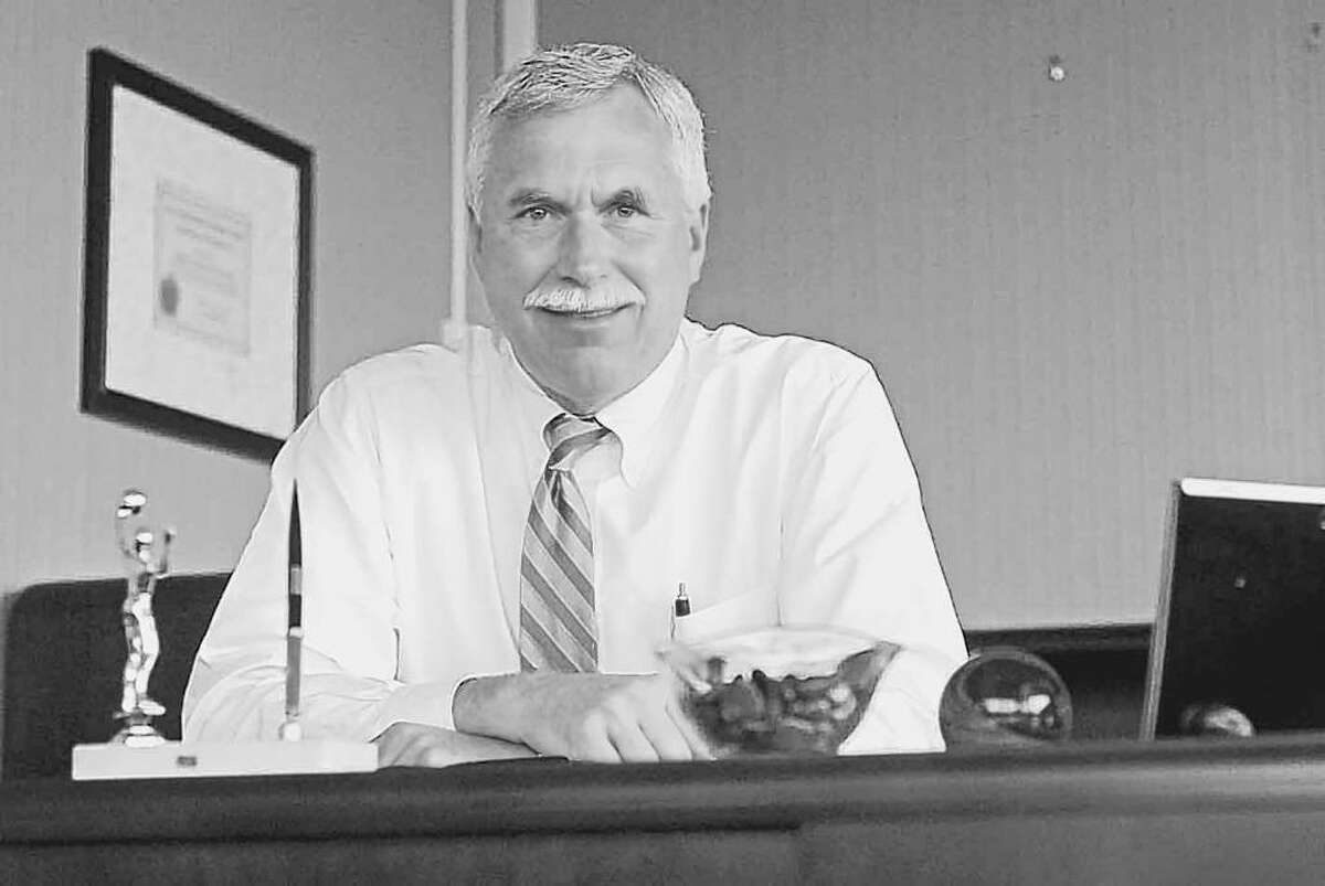 State Commissioner of Mental Health Michael Hogan praises efforts to treat mental and physical problems at one location. (Times Union archive)