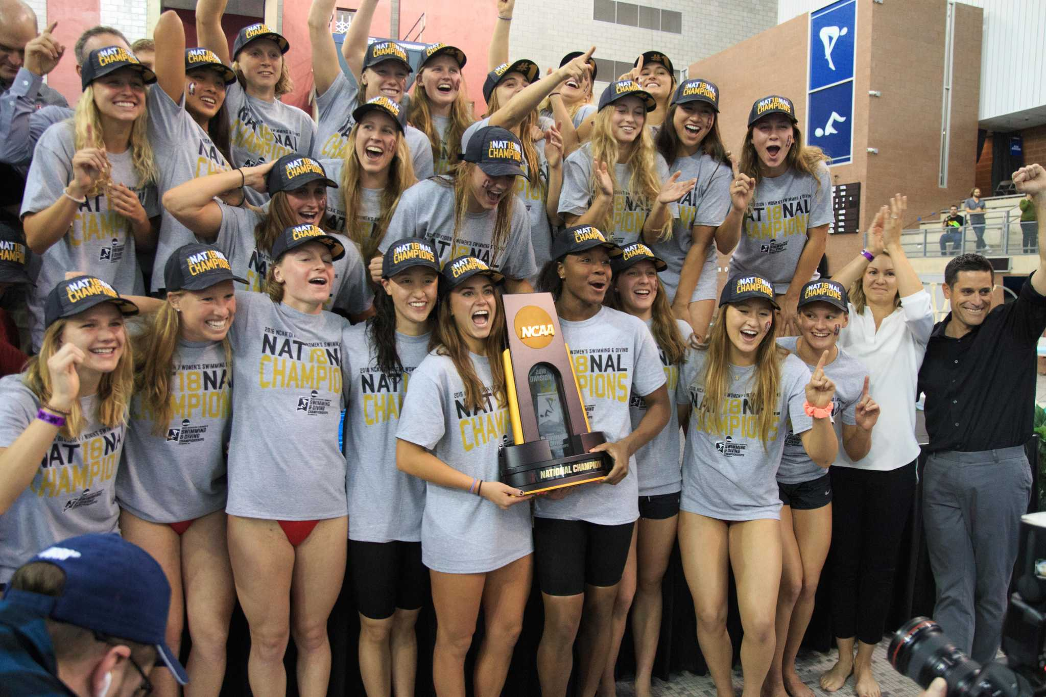 how stanford women dominated ncaa swimming for 2nd