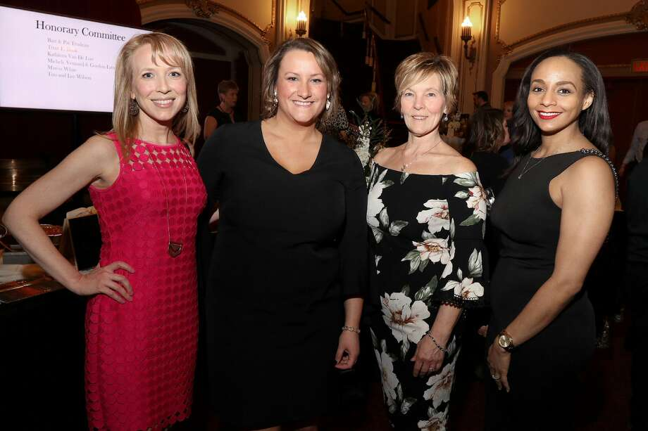 Were you Seen at the Backstage Ball, honoring the  President and CEO of the Albany County Convention & Visitors Bureau Michele  Vennard, at the Palace Theatre in Albany on Saturday, March 24, 2018? The event  is a fundraiser for the Palace Performing Arts Center. Photo: Joe Putrock/Special To The Times Union
