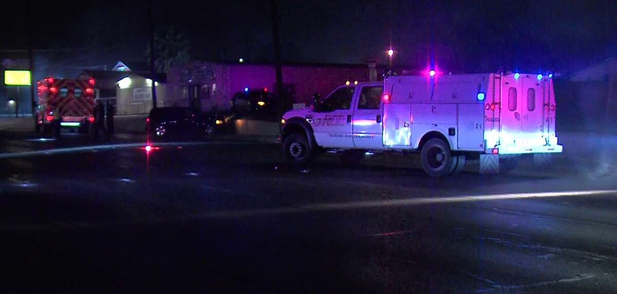 San Antonio police are looking for the driver of a pickup truck they say fled from the scene of a fatal wreck Sunday morning, March 25, 2018.