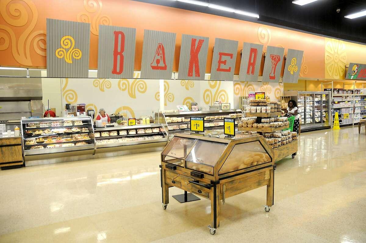 The bakery at the Fiesta Mart at 12355 Main St.