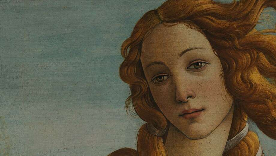 "Detail from Botticelli's ""The Birth of Venus,"" which hangs in the Uffizi Gallery in Florence. Photo: Contributed Image / Hearst Connecticut Media"