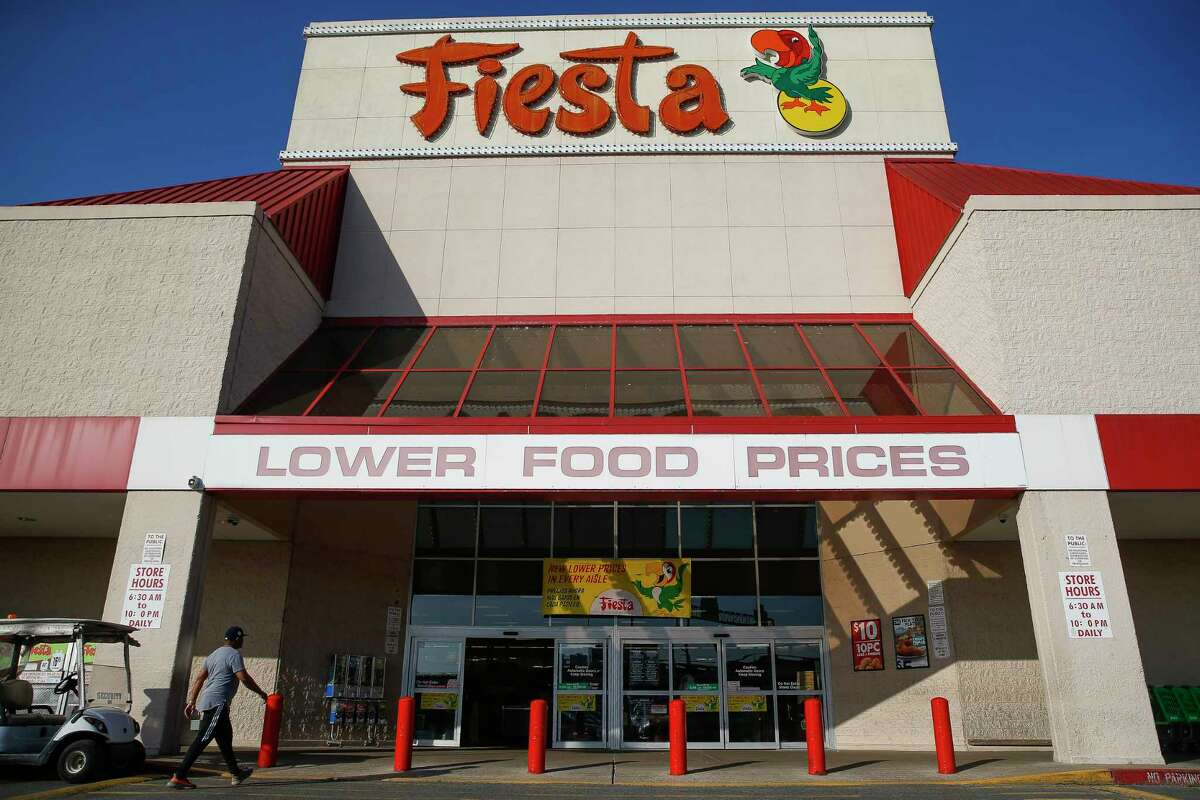 People shop at Fiesta Mart Sunday, March 25, 2018 in Houston.