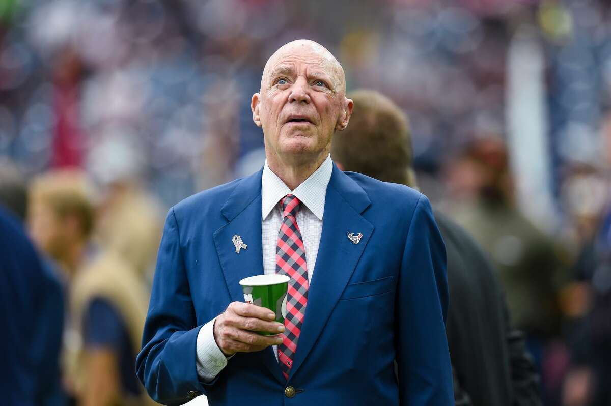 PHOTOS: Meet the people who've made Houston's first 180 years a success Houston Texans owner Bob McNair looks up at the big screen before the football game between the Indianapolis Colts and the Houston Texans on November 5, 2017 at NRG Stadium. >>>See the other Houstonians who left the city of Houston better than how they found it...