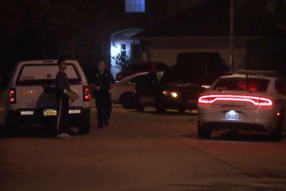 An ex-boyfriend shot and killed his former girlfriend's new boyfriend before also killing himself in a Cypress home, Monday, March 26, 2018.