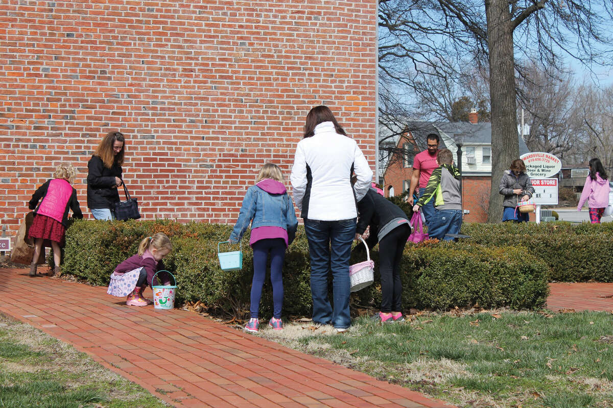 The 1820 Col. Benjamin Stephenson House in Edwardsville conducted an Easter egg hunt on Sunday. The event featured face painting, games, an appearance by a re-enactor appearing as Col. Stephenson and the egg hunt, which covered much of the house grounds. Tours of the house were also available to those interested.