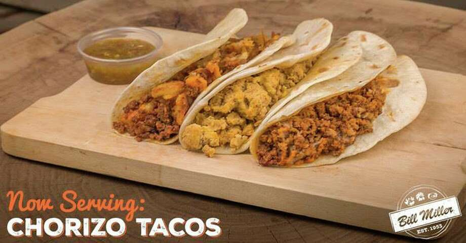 Bill Miller Bar-B-Q's breakfast menu started the week by bringing back an old favorite: chorizo. Click ahead to view best Bill Miller's best taco combinations, according to social media users.