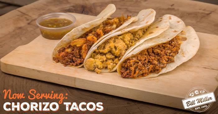 Bill Miller Bar B Q Chorizo Tacos Are Back San Antonio