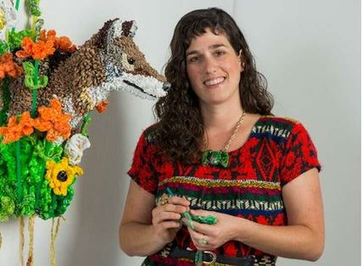 """Calder Kamin of Austin is one of the artists creating installations for the DoSeum's """"Dream Tomorrow Today"""" exhibit."""